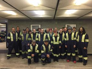 Skyline Scaffold employees